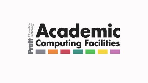 Thumbnail for entry Academic Computing Labs