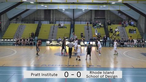 Thumbnail for entry Men's Basketball vs Rhode Island School of Design