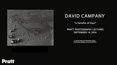 Thumbnail for entry David Campany