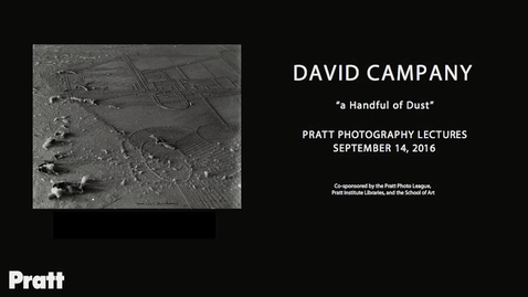 Thumbnail for entry David Campany