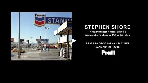 Thumbnail for entry Stephen Shore