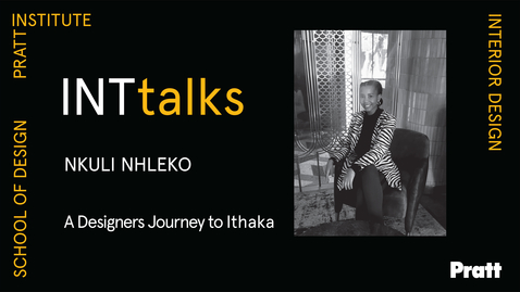 Thumbnail for entry INTtalks - A Designers Journey to Ithaka