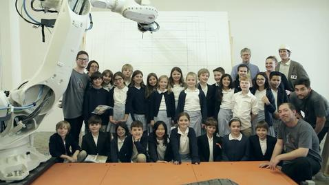 Thumbnail for entry Pratt Program Helps Fourth Graders Learn Math Using City's Largest Industrial Robot