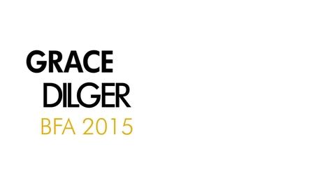 Thumbnail for entry Grace Dilger The Writing Program BFA 2015
