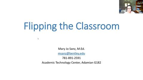 Thumbnail for entry Flipping the Classroom Workshop