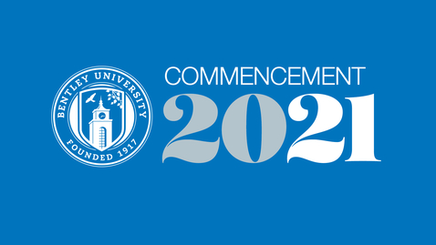 Thumbnail for entry 2021 Bentley Commencement at Fenway Park