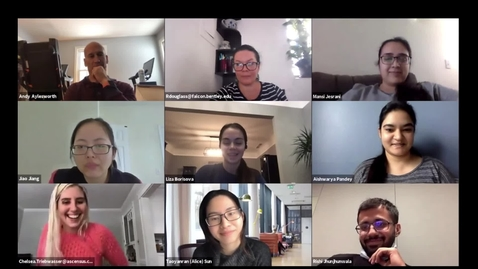 Thumbnail for entry Graduate Marketing Organization Hosts Creativity Workshop