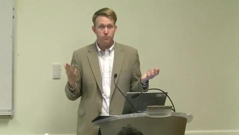 Thumbnail for entry Daniel Merica, CNN, Bentley Alumnus - 11/11/2013