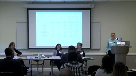 Thumbnail for entry 14th Annual Global Business Ethics Symposium: Session A - Gender and Diversity on Boards
