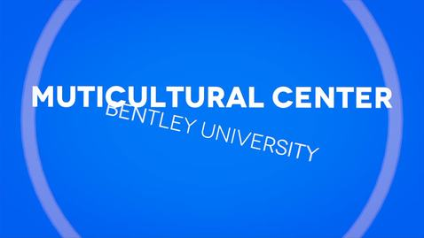 Thumbnail for entry Multicultural Center