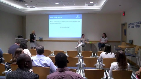Thumbnail for entry Transfer Student Information Session - June 25, 2018