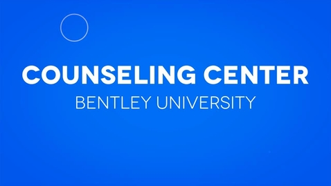 Thumbnail for entry Counseling Center