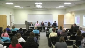 Thumbnail for entry Disability Awareness Panel Discussion - 10/27/2014