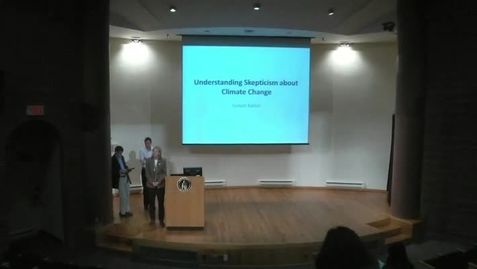 Thumbnail for entry Understanding Skepticism about Climate Change 11062012
