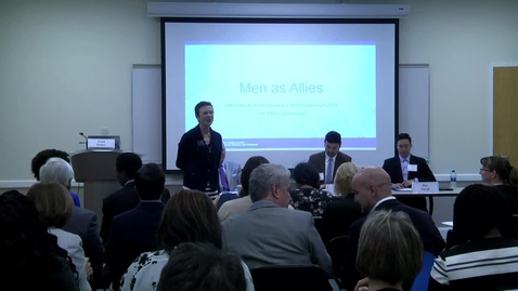 Thumbnail for entry 14th Annual Global Business Ethics Symposium: Breakout Session B - Men as Allies
