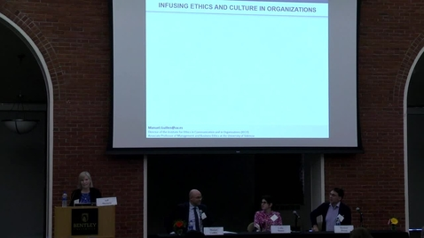 Thumbnail for entry 14th Annual Global Business Ethics Symposium: Infusing Ethics and Culture in Organizations