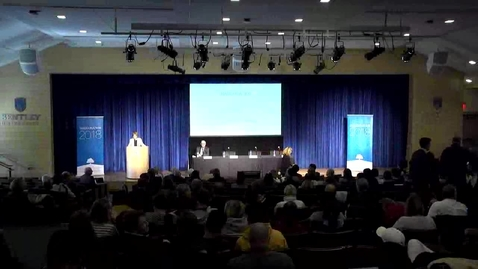 Thumbnail for entry The Future of Work - Keynote and First Panel - October 18, 2018