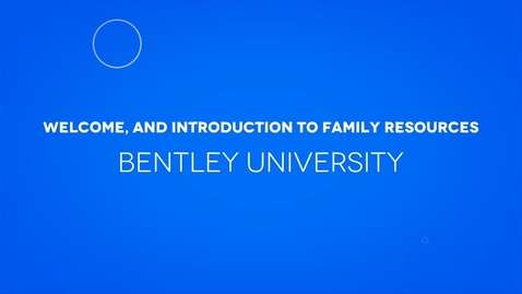 Thumbnail for entry Welcome, and Introduction to Family Resources