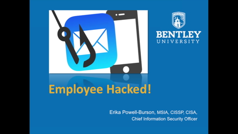 Thumbnail for entry Bentley Employee Hacked