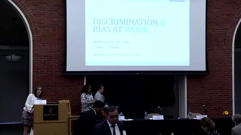 Thumbnail for entry 14th Annual Global Business Ethics Symposium: Discrimination and Bias at Work