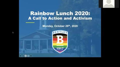 Thumbnail for entry Rainbow Lunch 2020: A Call to Action and Activism