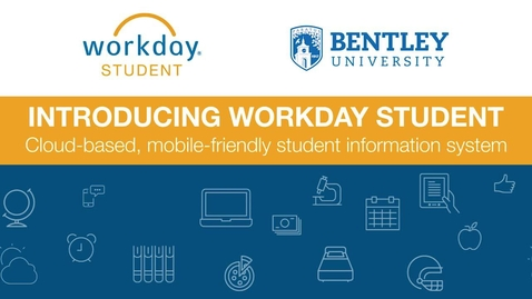 Thumbnail for entry Introduction to Workday Student - General Community