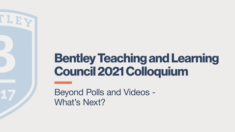 Thumbnail for entry Beyond Polls and Videos  - What's Next?
