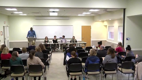 Thumbnail for entry Disability Awareness Panel Discussion - November 1, 2018