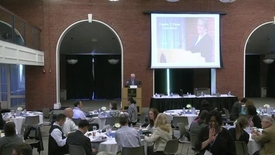 Thumbnail for entry 10th Annual Global Business Ethics Symposium - Welcome - 05192014
