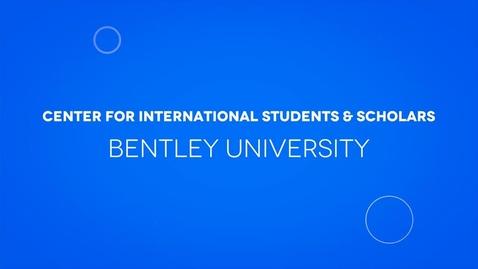 Thumbnail for entry Center for International Students & Scholars