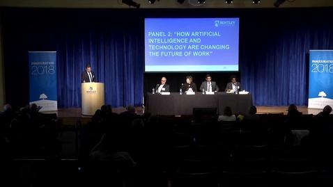 Thumbnail for entry How Artificial Intelligence and Technology are Changing the Future of Work - October 18, 2018