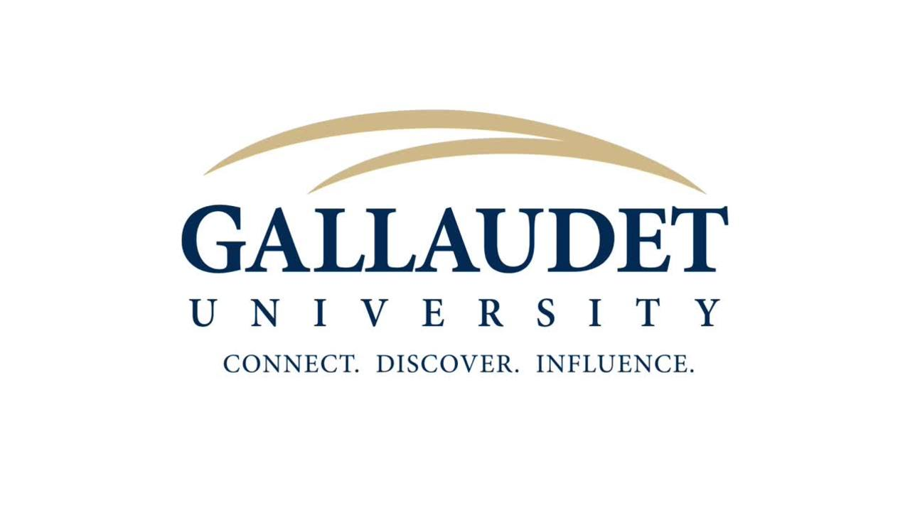 Gallaudet Staff Council of Representatives Meeting - 9/10/2019