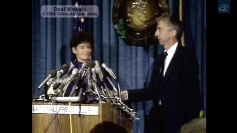 Thumbnail for entry Deaf Mosaic 402: Deaf President Now