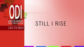 Thumbnail for entry ODI: Still I Rise! with Dr. Glenn Anderson - 2/27/14