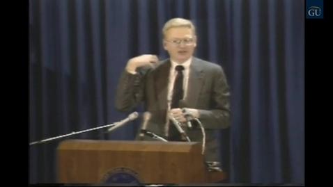 Thumbnail for entry Gallaudet Video Presents Inside Gallaudet 105 (1989)
