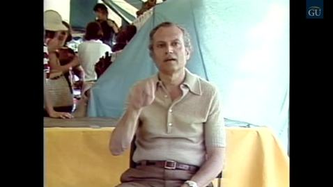 Thumbnail for entry Deaf Video #28 - Festival of American Folklife (1981)