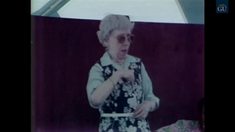 Thumbnail for entry Deaf Video #35 - Festival of American Folklife (1981)