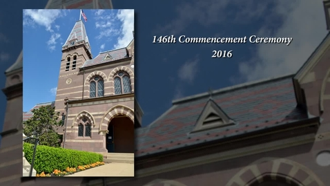 Thumbnail for entry 2016 Commencement Ceremony