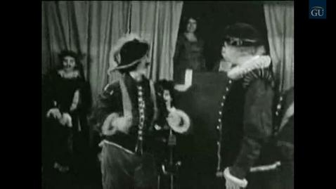 "Thumbnail for entry Gallaudet Video Presents ""Cyrano de Bergerac"""