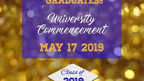 Thumbnail for entry Congrats Graduates Video.mp4