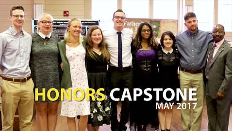 Thumbnail for entry Honors Capstone 2017