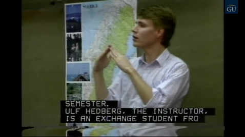 Thumbnail for entry Gallaudet Video Presents Inside Gallaudet 203 (1989)