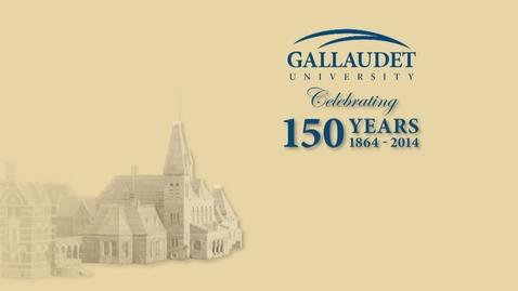 Thumbnail for entry 150 Symposium: Women at Gallaudet