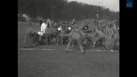 Thumbnail for entry Football game: Gallaudet College vs University of Delaware (1927)
