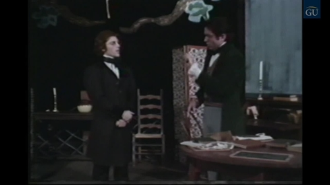 "Thumbnail for entry Gallaudet University Theatre Arts Presents ""Laurent Clerc: A Profile"" (part 2 of 3) (1976)"