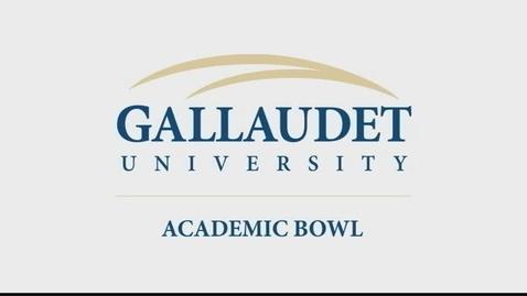 Thumbnail for entry 2015 National Academic Bowl Championship