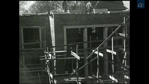 Thumbnail for entry Deaf Film 148-4: Construction of Edward Miner Gallaudet Memorial Library (EMG) (1956)