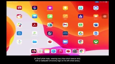 "Thumbnail for entry Video Tutorial on iPad ""PDF Markups & Sending PDF"""