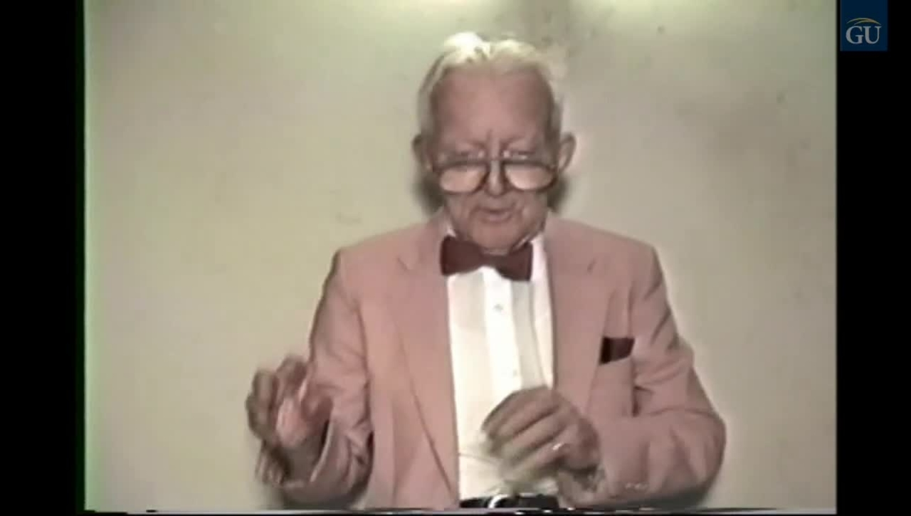 Gallaudet Video Presents Ernest Marshall The Movie Projectionist: 1931-1994
