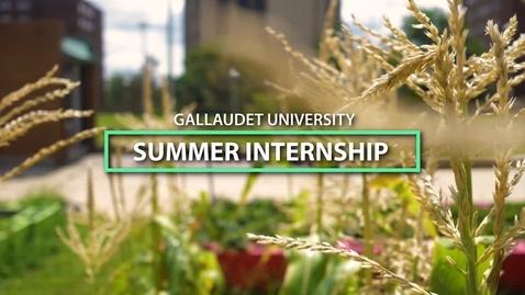 Thumbnail for entry Internship Series - Gally Gardens